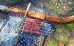 Самые простые мангалы: делаем из веток, камней, пивных банок и т.д. в походных условиях