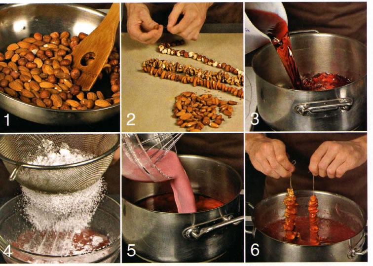 Чурчхела рецепт с фото пошагово